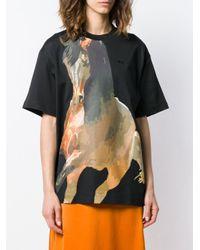 Marques'Almeida プリント Tシャツ Multicolor
