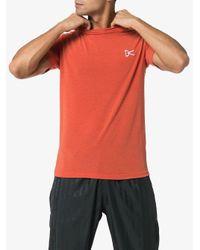 T-shirt Tadasamam District Vision pour homme en coloris Orange