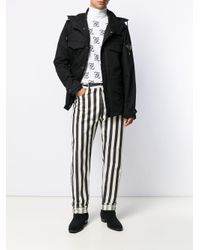 Парка С Капюшоном Saint Laurent для него, цвет: Black