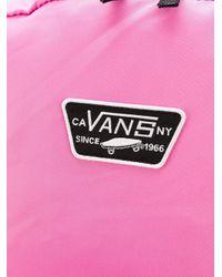 Vans ロゴ バックパック Pink