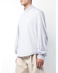 Hed Mayner Blue Falling Backwards Shirt for men