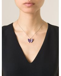 Stephen Webster Metallic 'fly By Night' Pendant Necklace
