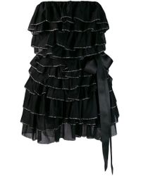 Vestido de fiesta Alexandre Vauthier de color Black