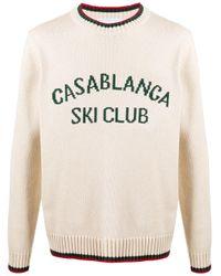 メンズ CASABLANCA ロングスリーブ セーター Multicolor