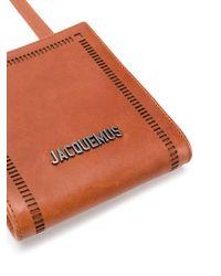 メンズ Jacquemus ロゴ ショルダーバッグ Multicolor