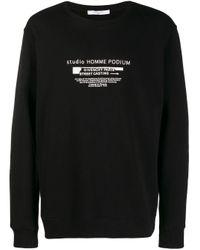 Sweat Studio Homme Podium Givenchy pour homme en coloris Black