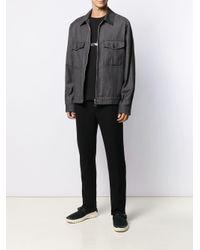 メンズ EA7 ロゴ Tシャツ Black