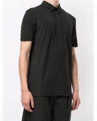 メンズ BOSS by Hugo Boss ボタンカラーポロシャツ Black