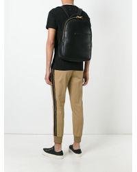 Giuseppe Zanotti - Black Leather Backpack for Men - Lyst