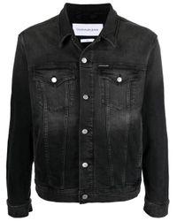 Джинсовая Куртка Calvin Klein для него, цвет: Black