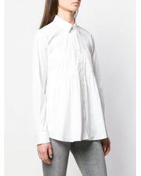 Emporio Armani チェストポケット シャツ White