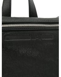 McQ Alexander McQueen Black Loveless Convertible Backpack