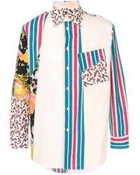 Marni White Patterned Shirt for men
