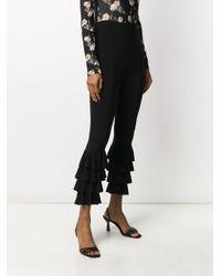 Pantaloni crop di Norma Kamali in Black