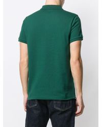 メンズ Moncler ロゴ ポロシャツ Green