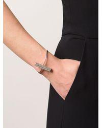 1-100 Metallic '152' Cuff Bracelet