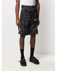 Pantalon de jogging à fleurs Palm Angels pour homme en coloris Black