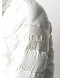 Пуховик С Логотипом Moncler для него, цвет: White