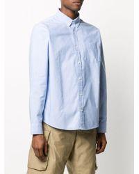 メンズ Carhartt WIP ボタン シャツ Blue