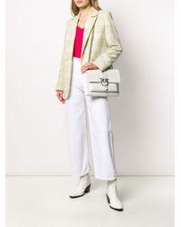 Sac porté épaule Abbraccio Love Pinko en coloris White