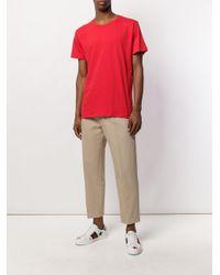 Gucci Red Logo Print T-shirt for men