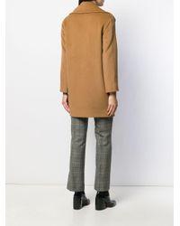 Однобортное Пальто Tagliatore, цвет: Brown