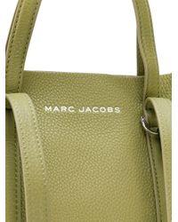 Sac cabas en cuir grainé Marc Jacobs en coloris Green