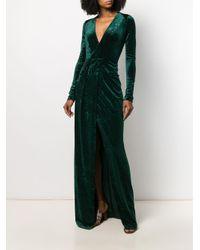 Vestido Winter Palm Galvan de color Green