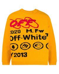 メンズ Off-White c/o Virgil Abloh Industrial Y013 セーター Yellow