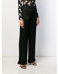 Pantaloni con effetto jacquard di Off-White c/o Virgil Abloh in Black