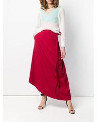 Y. Project オフショルダー レイヤード セーター Multicolor