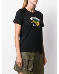 Camiseta con motivo de tigre KENZO de color Black