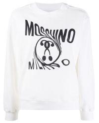 Moschino ロゴ スウェットシャツ White