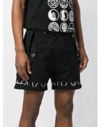 メンズ KTZ ベルテッド ショートパンツ Black