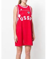 Adidas Red Originals Russia Tank Dress