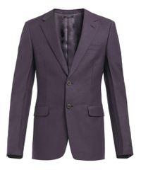 Prada Blue Single-breasted Suit for men