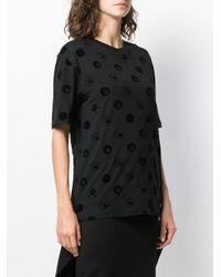 T-shirt con stampa di McQ Alexander McQueen in Black