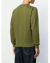 Maglione con ricamo di Loewe in Green da Uomo