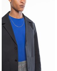 "David Yurman - Metallic 24"" Length Small Box Chain Necklace for Men - Lyst"