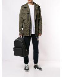 Dolce & Gabbana Black Logo Plaque Backpack for men