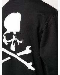 メンズ MASTERMIND WORLD スカル スウェットシャツ Black