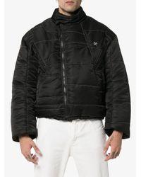 メンズ GmbH X Browns Harris パデッド ジャケット Black