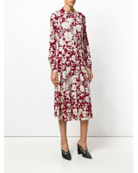 LaDoubleJ Chemisier Lilium Dress in het Red
