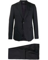 メンズ Z Zegna シングルスーツ Black