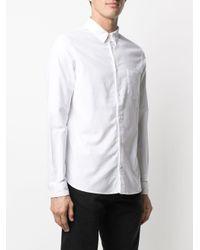 メンズ AllSaints コットン シャツ White