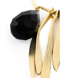 Wouters & Hendrix Black 'bamboo' Onyx Necklace