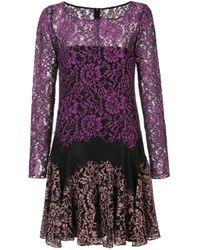 Zac Zac Posen Dory ドレス Purple
