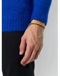 DIESEL - Multicolor Woven Charm Bracelet for Men - Lyst