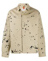 OAMC Natural Paint Splatter Effect Jacket for men