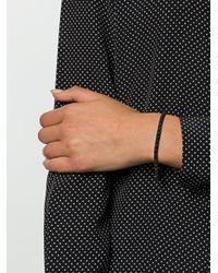 Eddie Borgo - Black Triangle Bead Bracelet - Lyst